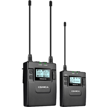 Comica Audio CVM-WM300C Wireless Microphone System with Rechargeable Batteries