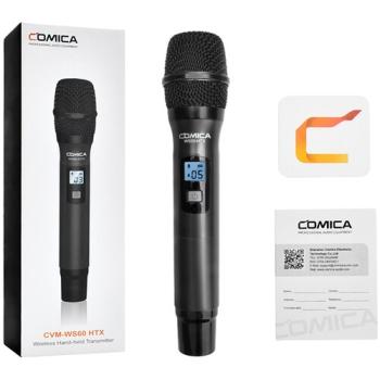 Comica Audio CVM-WS60 COMBO HTX Wireless Handheld Microphone