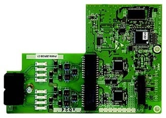 NEC 2 ISDN BRI Daughter Board PABX System