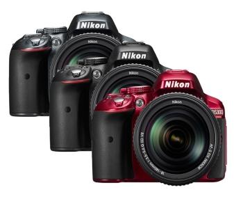 Nikon D5300 24.2MP DX-Format FHD Video Digital SLR Camera With AF-P 18-55 Lens