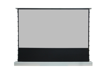 "DMInteract 150"" Black Crystal Floor Rising Projector Screen"