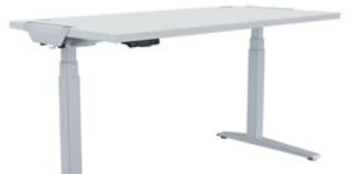 Fellowes Levado Desk+Top Grey (1600mm x 800mm)