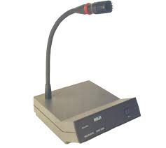 Ahuja CMD3200 Delegate Unit Conference System Microphone