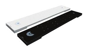 """ClearOne 910-3200-203-12-B 12"""" for BFM2 Black Standard Ceiling Mount Kit"""