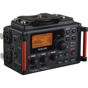 Tascam DR-60DmkII 4-Input & 4-Track Multitrack Field Recorder
