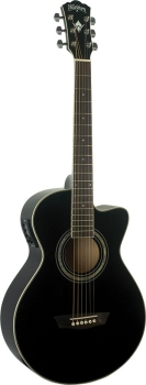 Washburn EA10B Petite Jumbo Acoustic Electric Guitar