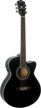 Washburn EA12B Mini Jumbo Acoustic Electric Guitar