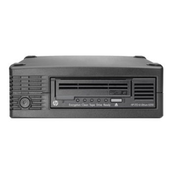 HPE StoreEver LTO-6 Ultrium 6250 External Tape Drive