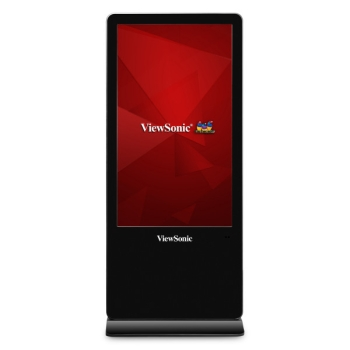 """ViewSonic EP5540 55"""" 4K Ultra HD All-In-One Free-Standing Digital ePoster"""