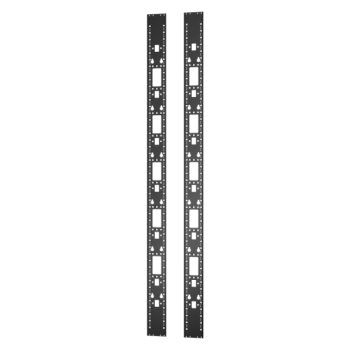 APC ER7RCC48 Vertical 0U Accessory Channel 48U 2 Pieces Easy Rack