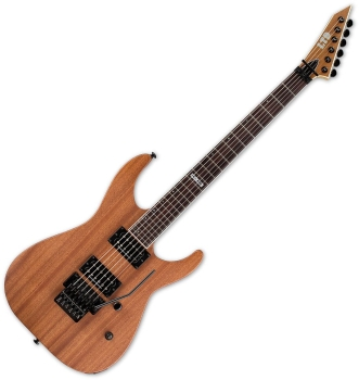 ESP LM400MNS LTD M-400 Mahogany in Natural Satin Finish, with Floyd Rose Special  Guitar