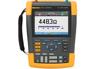 Fluke ScopeMeter Oscilloscopes, 2 Ch, 60 Mhz 190-062/EU/S