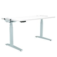 Fellowes Levado Desk+Top White (1600mm x 800mm)