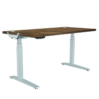 Fellowes Levado Desk and Top Walnut (1600mm x 800mm)