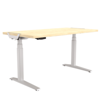 Fellowes Levado Desk and Top Maple (1800mm x 800mm)