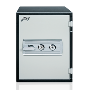 Godrej Safire 40L (Vertical) Mechanical Home Locker with Key and Combination Lock