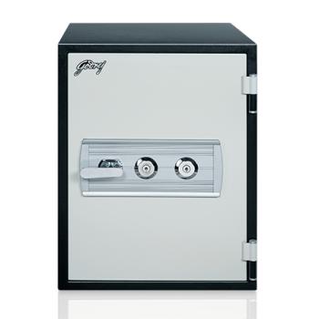 Godrej Safire 40L (Vertical) Mechanical Home Locker with Key + Digital Lock