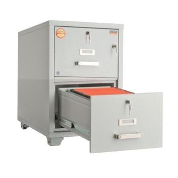 Valberg FRF 2K-KК 2 Drawer Fire Resistant Filing Cabinet