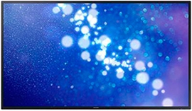 "Samsung DM-E Series 65"" Slim Direct-Lit LED Display for Business"