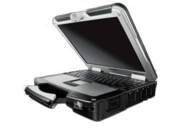 "Getac A790 14"" Ultra-Rugged Notebook (Intel Core 2 Duo, 4GB, 320GB HDD, Win 7 Pro)"