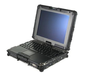 "Getac V100 10.4"" Core i7 640UM Rugged Laptop (Intel Core i7, 4GB, 320GB HDD, Win 7)"