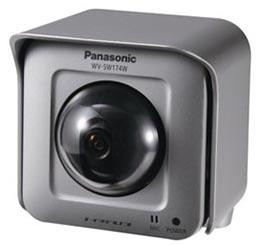 Panasonic Outdoor Wireless Pan-tilting HD Network Camera WV-SW174WE