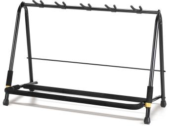 Hercules GS525B Multi-guitar Rack for up to 5 Guitars Stand
