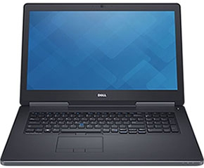 """Dell Precision M7710 (210-AFCQ-i7-3) 17.3"""" CTO Base (Core i7, 1TB, 16GB, Win 7 Pro)"""