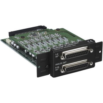 Tascam IF-AN16/OUT 16-Channel Analog Interface Card for DA-6400 64-Channel Recorder