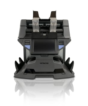Hitachi iH-210 2 Pocket Dual CIS Sensor 32 Currencies Counting Machine