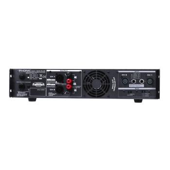 Phonic MAX1500Plus 450Wx2 @4Ohms Stereo Power Amplifier