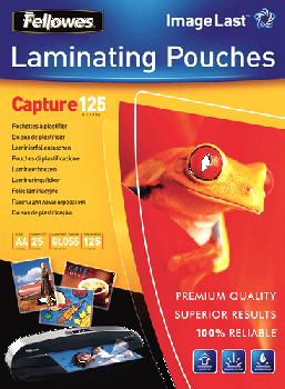Fellowes A4 Size 125M Laminating Pouch