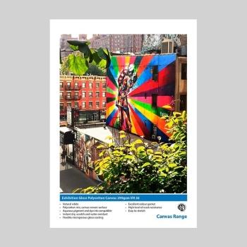 "Innova IFA 56 1118x15m Exhibition Gloss Polycotton Canvas 390gsm- 44"" Roll"