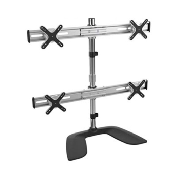 iPlay 7299 Four Monitor LCD LED Adjustable Stand With Steady Base