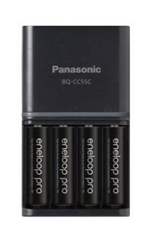 Panasonic K-KJ55HCC40H Eneloop Pro Rechargeable AA Battery