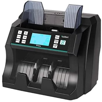 Kolibri Prime Front Loading Simple Bill Counter With UV-MG-IR Detection Machine