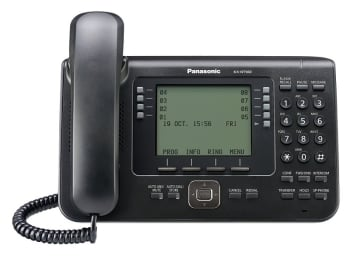 Panasonic KX-NT560X-B 4.4 Inches LCD Screen Proprietary IP Phone