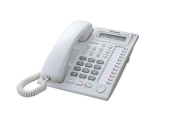 Panasonic KX-T7665X Single Line Display Digital Proprietary Phone