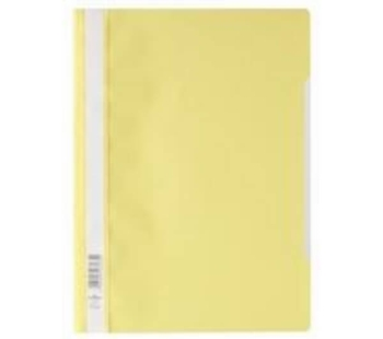 Perfekt Clear Folder Yellow - Set of 5 (12 Pcs in 1 Pack)
