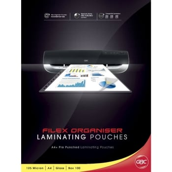 GBC LAMINATING POUCH GLOSS ID GOVT. SIZE 59X83MM 5MIL / 125X2 MICRON PACK OF 100