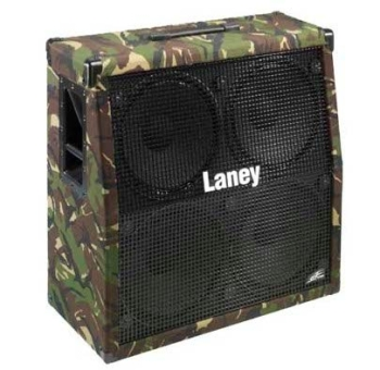 Laney LX412-Camo Electric Guitar Angled Cabinet