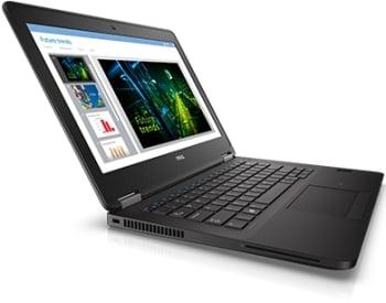 Dell Latitude E7270, Intel Core i5-6300U, Fingerprint Reader and Smart Card Reader, 8GB Memory, 256GB Solid State Drive, Windows 7 Pro 64 Bit (Includes Windows 10 Pro License), 3Yr Basic Warranty NBD