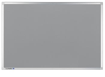 Legamaster 7-140154 Professional Lino-Cork Bulletin Pinboard 90 x 120 cm Grey