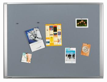 Legamaster 7-140343 Dynamic Felt Pinboard 60 x 90 cm Grey
