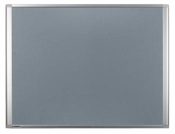 Legamaster 7-140356 Dynamic Felt Pinboard 90 x 180 cm Grey