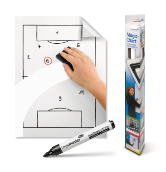 Legamaster 7-159100 Magic Chart Whiteboard