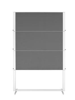 Legamaster 7-203500 Professional Travel Workshop Board 150x120cm Grey Felt
