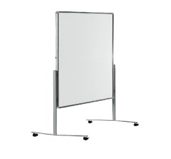 Legamaster 7-205000 Premium Folding Mobile Moderation Board 150x120cm White / Plain