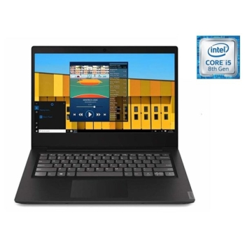 Lenovo Ideapad S145-81MU007XAX-Blk 14.0 HD Laptop (Core i5 8265U 1.6 GHZ, 1TB+128S, 8GB RAM)