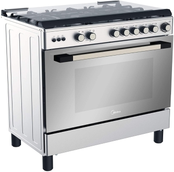 Midea 90cm Gas Cooker With Gas Oven, Grill and Convection Fan